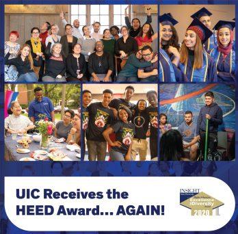 UIC Reveives the HEED Award... AGAIN!