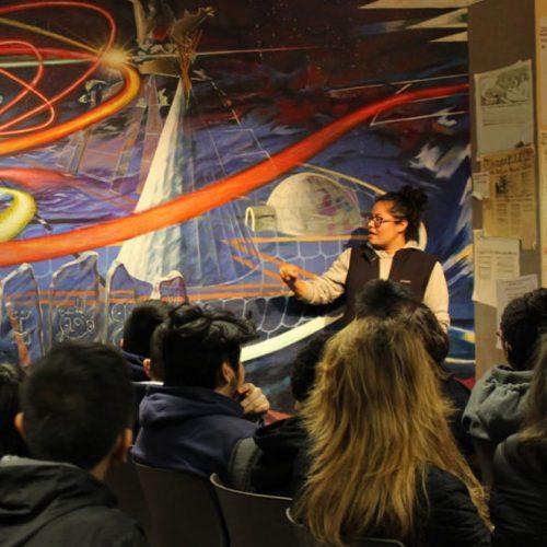 Presentation at the Latino Cultural Center