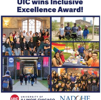 UIC wins Inclusive Excellence Award collage of campus groups