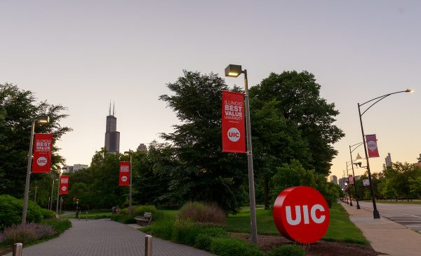 East Campus at dawn