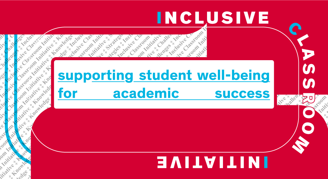 supporting student well-being for academic success