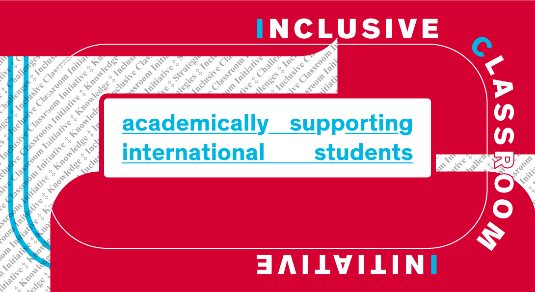 academically supporting international students